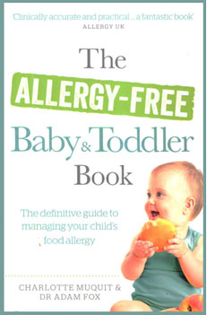 Allergy Free Baby and toddler Book