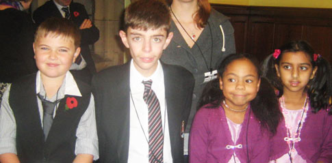 Young people at House of Commons