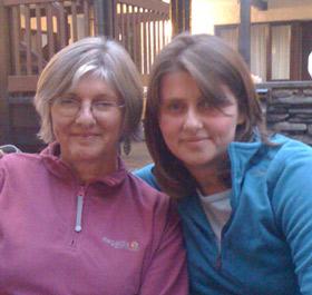 Ruth and mum