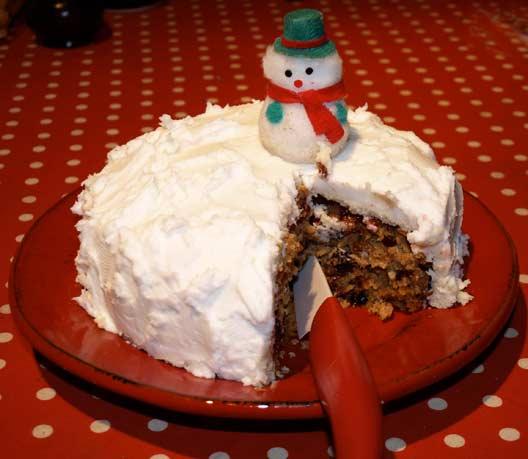 Christmas cake recipe egg free