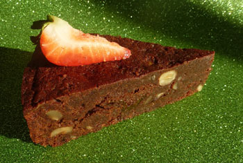free from chocolate prune torte