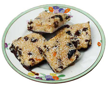 freefrom coconut chocolate slices