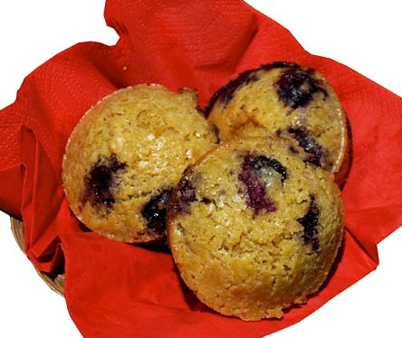 Oatmeal berry muffins - recipe