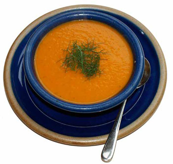 Cloona carrot soup