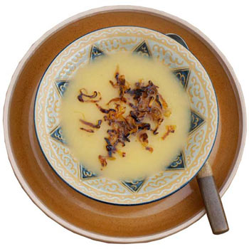 Cream of swede soup