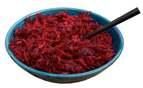 Beetroot adn carrot salad recipe