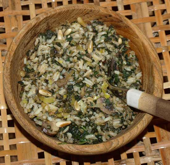 risotto with nettles a memoir with food